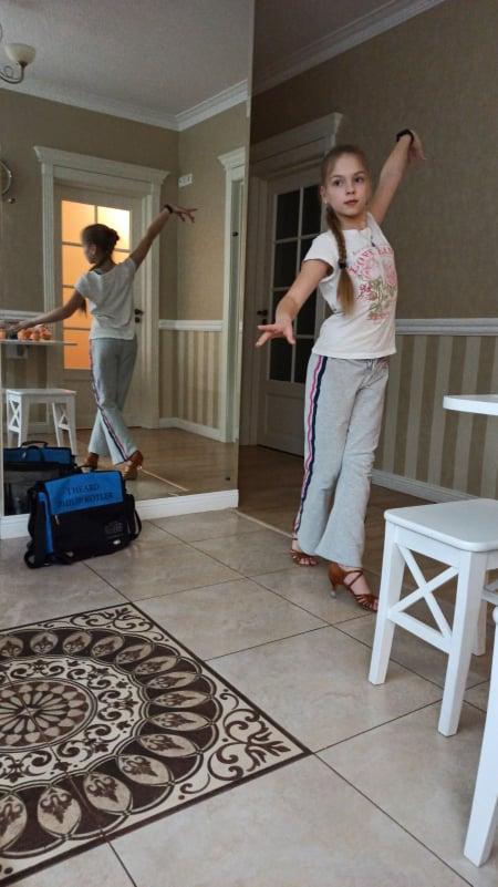 Спорт вдома, танцювальний спорт. Фото